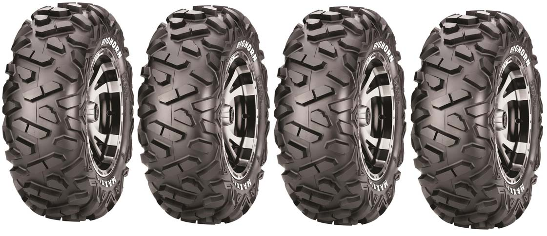 4 Pneus  Maxxis Big Horn M917 26/9/12 + M918 26/12/12 Port Offer