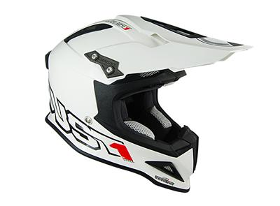 Casque Just1 J12 Solid Blanc Port Offert