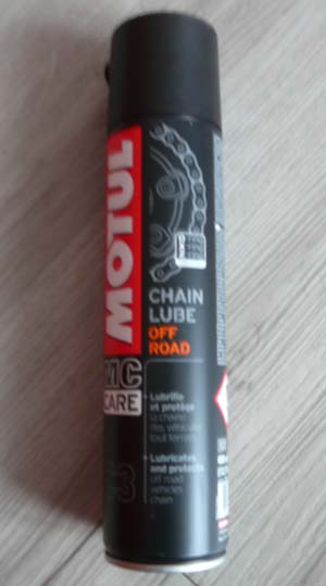 Chain Lube Off Road Motul Graisse Chaîne Moto Enduro Cross