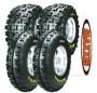 Lot 4 Pneus Maxxis Razr2  M933 23x7x10 + M934 22x11x9 Port Offer