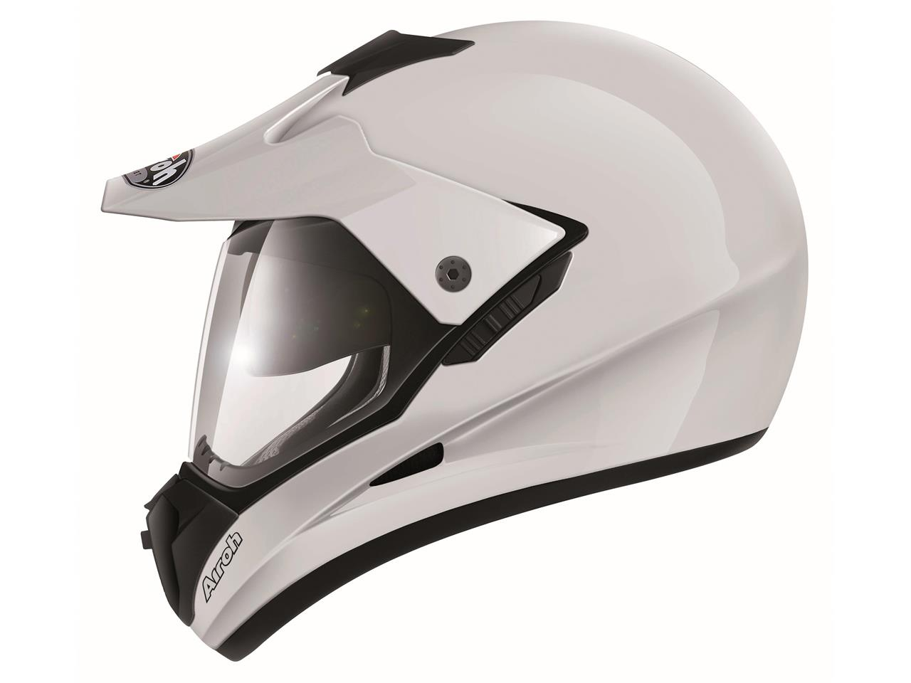 Casque AIROH S5 White Gloss