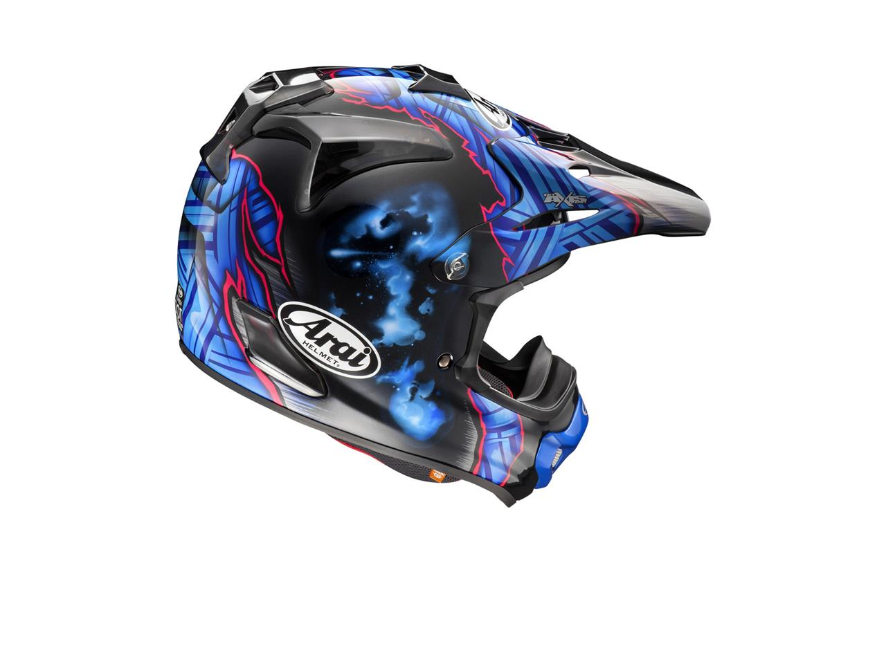 Casque ARAI MX-V Barcia Black