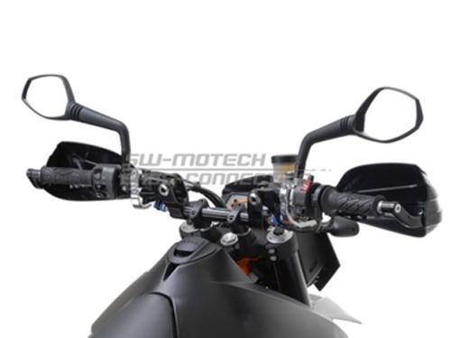 proteges mains moto kit prot ges mains sw motech yamaha yj6. Black Bedroom Furniture Sets. Home Design Ideas