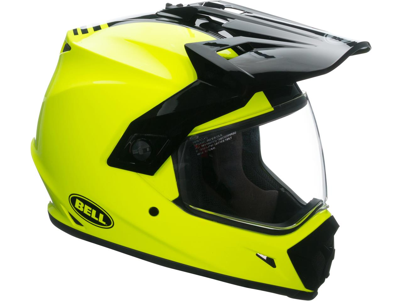 Casque BELL MX-9 Adventure MIPS Gloss HI-VIZ Yellow