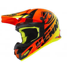 Casque Cross Kenny Track Neon Orange Adulte