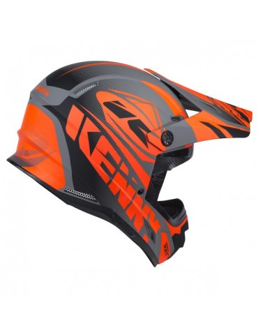 Casque Cross Kenny Track Matt Grey Adulte