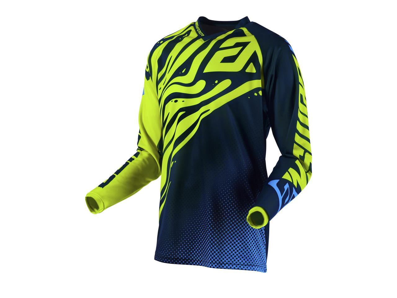 Maillot ANSWER Syncron Flow Hyper Acid/Midnight/Astana